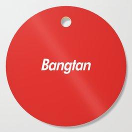 BTS Bangtan Box Logo Cutting Board