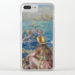 Auguste Renoir - The Bathers Clear iPhone Case