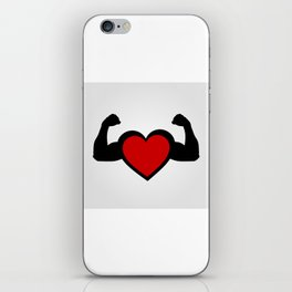 Healthy heart, healthy you iPhone Skin
