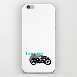 Sloth - easy rider iPhone Skin