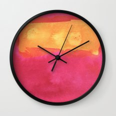 color abstract 7 Wall Clock