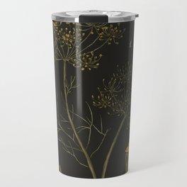 Dill (Dark Background) Travel Mug