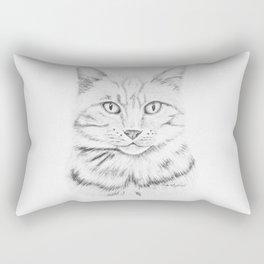 Tabby Tom Rectangular Pillow
