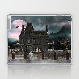 Haunted House 1 Laptop & iPad Skin