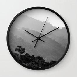 Tropical Landscape Wall Clock