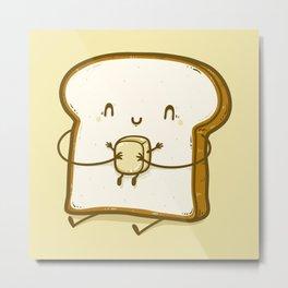 Bread & Butter Metal Print