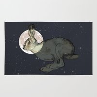 interstellar Area & Throw Rugs featuring Interstellar by Shany Atzmon