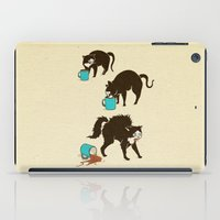 coffee iPad Cases featuring Coffee Cat by Boots