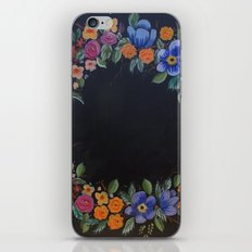 Wreath iPhone & iPod Skin
