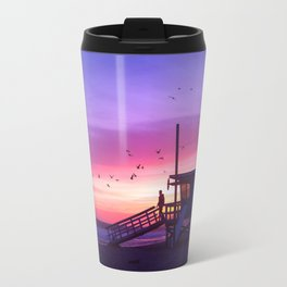 Sunset Tower Travel Mug