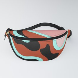 Beautiful Journey - Rust Turquoise Fanny Pack
