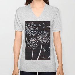 Dandelion Puff Unisex V-Neck