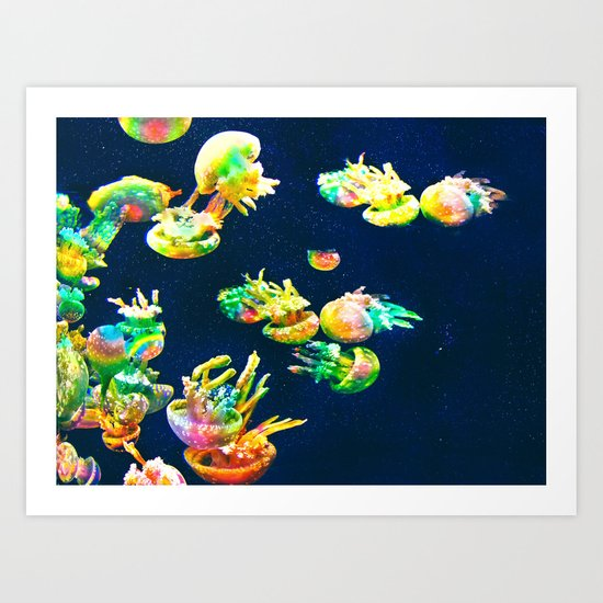 Rasta Jellies Art Print