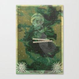 Alone, at last Canvas Print