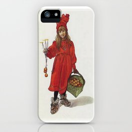 Wishing You Health Wealth and Happiness Greeting Card iPhone Case