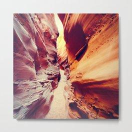 Spooky Canyon: Escalante, Utah. Metal Print