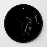 aragorn Wall Clocks featuring Aragorn by Elise Cayouette