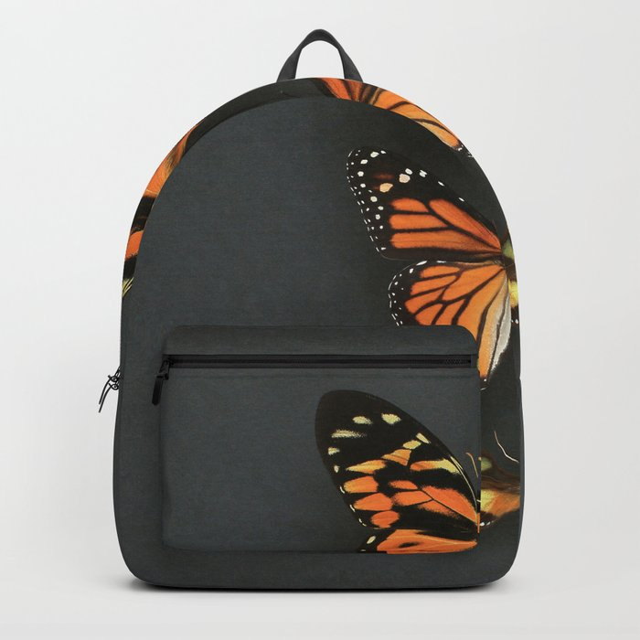 Orange Butterflies Backpack