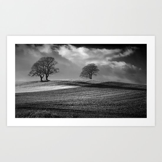 Across the Fields Art Print