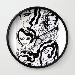 The Eden Girls Wall Clock