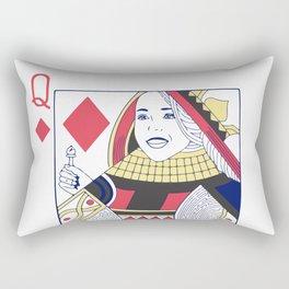 Ariadne Queen of Dreams and Diamonds Rectangular Pillow