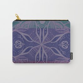 Mandala Drawing Carry-All Pouch