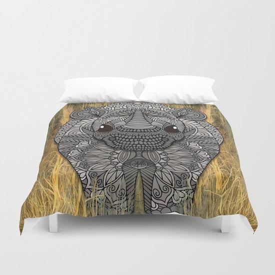 Ornate Rino Duvet Cover