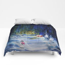 Out alone Comforters