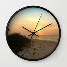 As The Sun Sits Wall Clock