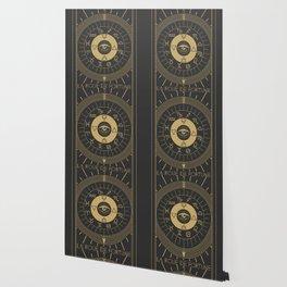 La Roue de Fortune or Wheel of Fortune Tarot Wallpaper