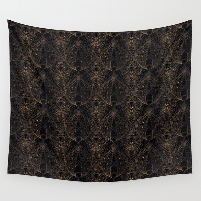 Feathers Wall Tapestry