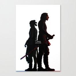 Force Bond Canvas Print