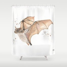 Fruit Bat Shower Curtain