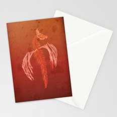 Dragon in red Stationery Cards