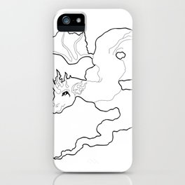 dragon inkling iPhone Case