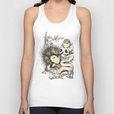 Haunters of the Waterless Unisex Tank Top