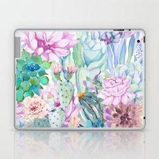 pastel votanical garden Laptop & iPad Skin