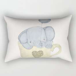 little elephant Rectangular Pillow