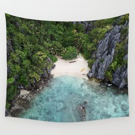Isolated Beach Wall Tapestry