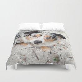 Australian Shepherd Duvet Cover