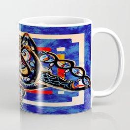 Abstract Owl Coffee Mug