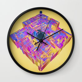 in the disarray Wall Clock