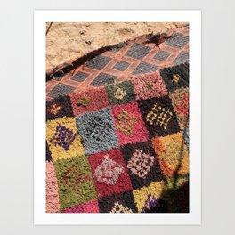 Welcome Mats, Sahara Desert, Morocco Art Print