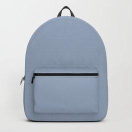 Vintage New England Shaker Village Light Soldier Blue Milk Paint Backpack