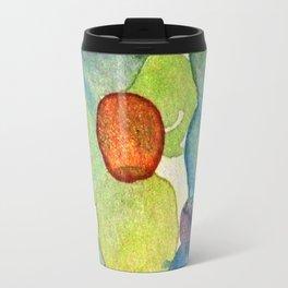 Watercolor - POLKA DOT RUSH HOUR Travel Mug