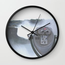 Look Through Me Wall Clock