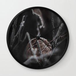 black frOst Wall Clock