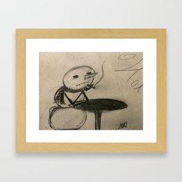 Winter Cigs Framed Art Print