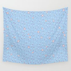 Confetti Shower Wall Tapestry