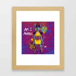 AMI AWAKE Framed Art Print